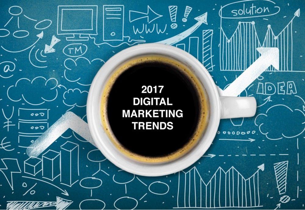 Top 5 digital marketing trends for 2017